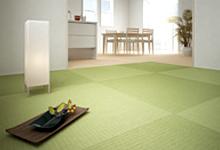天然い草の置き畳の写真